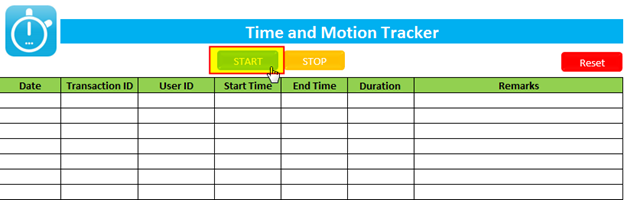 ExcelSirJi_Time and Motion Tracker